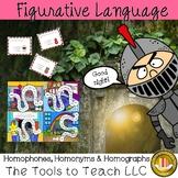 Homophones, Homonyms and Homographs & Learning Game Board