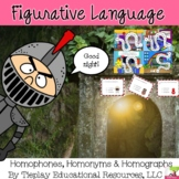 Homophones, Homonyms and Homographs with Game Board included