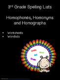 Homophones, Homonyms and Homographs