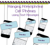 Homophones Lesson incorporating Cell Phones