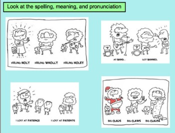 Homophones - Lots of Practice
