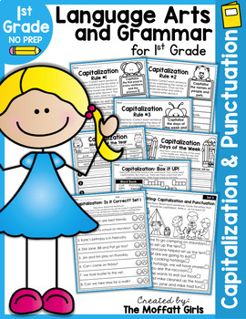 Capitalization and Punctuation NO PREP Packet