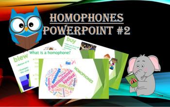 Homophones PowerPoint #2