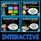 Homophones PowerPoint and Activities for 2nd, 3rd, and 4th grade
