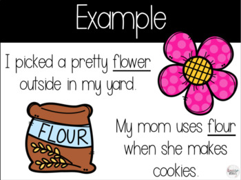 Homophones PowerPoint and Task Cards