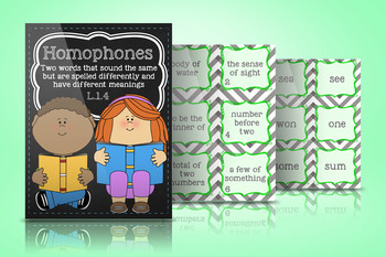 Homophones Practice and Games L.1.4