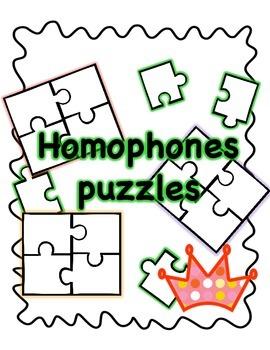 Homophones Puzzles