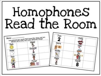 Homophones Read the Room