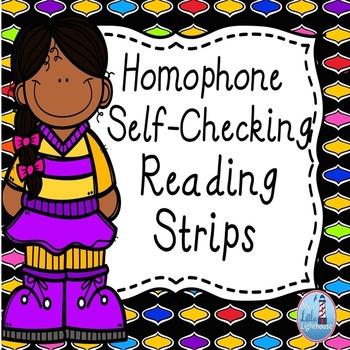 Homophones ( Reading Strips)