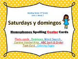 I Love Saturdays y domingos  - Homophones Photo CENTER Car