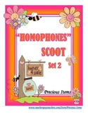 Homophones Scoot - Set 2