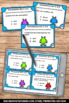 Homophones Task Cards Set 2, Speech Therapy Vocabulary, ESL Activities