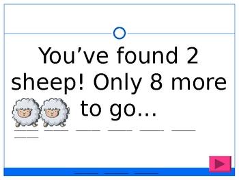 Homophones Sheep Spelling