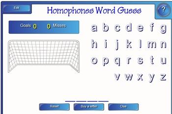 Homophones Smart Board Lesson