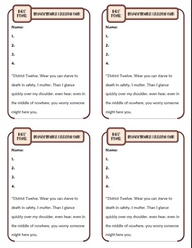 Homophones Spelling Lesson One: Ten-Minute Grammar Unit #2