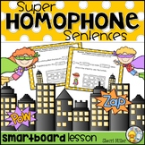 Homophones TEI SMARTboard Lesson and Student Activity