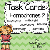 Homophones Task Cards Set 2