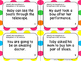 Homophones- Task Cards