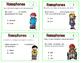 Homophones Task Cards