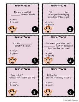 Homophones Task Cards Bundle