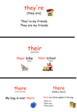 Homophones: There, Their, & They're