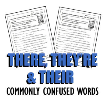 Homophones: There, They're & Their (Commonly Confused Words Series)