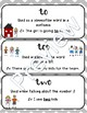 Homophones: To, Too, Two guided practice and differentiated worksheets