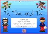 Homophones - To, Too, & Two - SMART Notebook Lesson File
