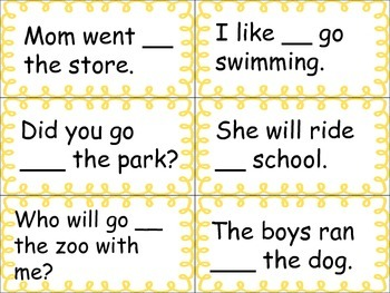 Homophones: Too-To-Two Activity Center
