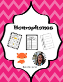 Homophones Unit