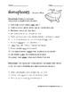 Homophones Worksheets