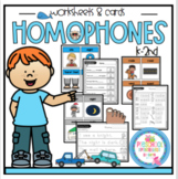 Homophones Worksheets and Cards