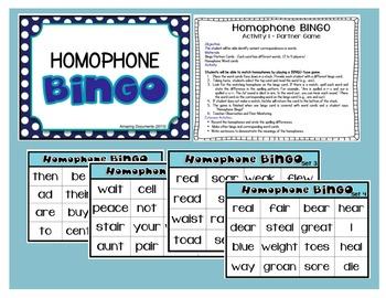 Homophones and Beyond!