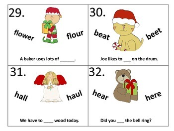Homophones at Christmas