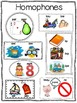 Homophones for the Primary Grades