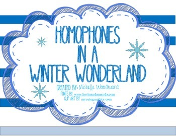 Homophones in a Winter Wonderland