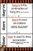 Homophones their-they're-there POSTER