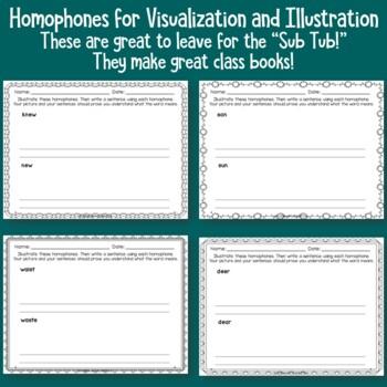 Homophones for Visualization and Illustration