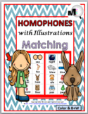 Homophones Matching Activity