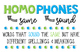 Homphones Anchor Chart - Freebie!