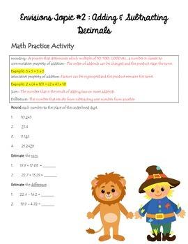 Homework Packet 3