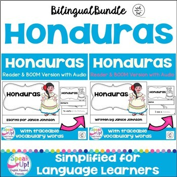 Honduras Readers in English & Spanish {Bilingual}