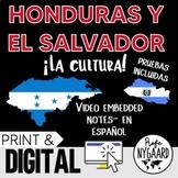 Honduras y El Salvador Culture- video embedded notes (en español)