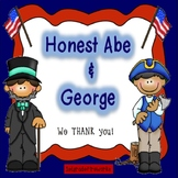 Honest Abe & George- Informational facts for writing.