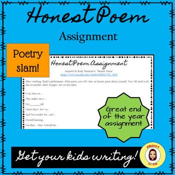 Honest Poem Assignment