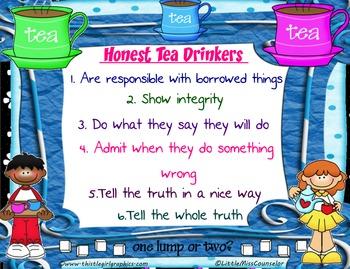 Honest Tea Poster