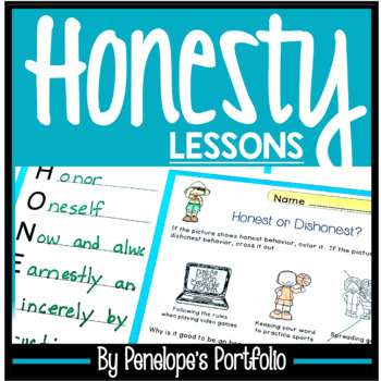 HONESTY Character Education Lessons