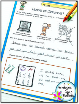HONESTY Activities and Lessons - Character Education