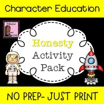 Honesty Activity Pack-7 Activities
