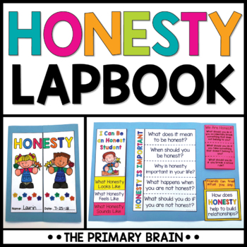 Honesty Character Education Lapbook